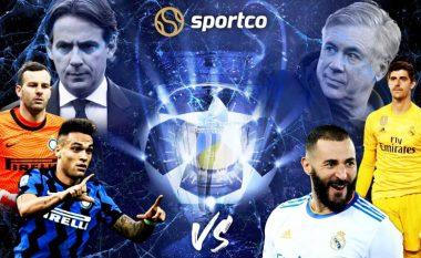 Statistika, analizë, formacionet e mundshme dhe parashikim: Inter – Real Madrid