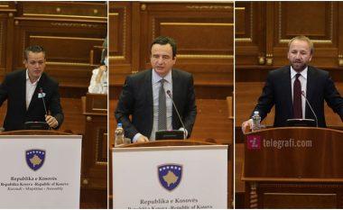 Përplasje mes Gashit, Tahirit e Kurtit në Kuvend rreth reciprocitetit për targa dhe arkivave të UÇK-së