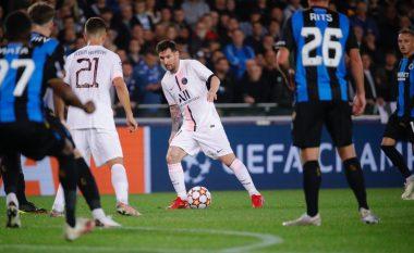 Notat e lojtarëve: Club Brugge 1-1 PSG, vlerësimi i Messit dhe të tjerëve