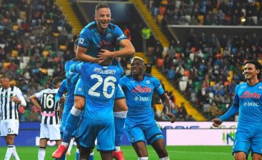Rrahmani shënon në fitoren e thellë të Napolit ndaj Udineses