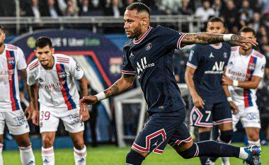 PSG triumfon ndaj Lyonit në çastet e fundit