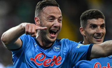 Notat e lojtarëve: Udinese 0-4 Napoli, Rrahmani lojtar i ndeshjes