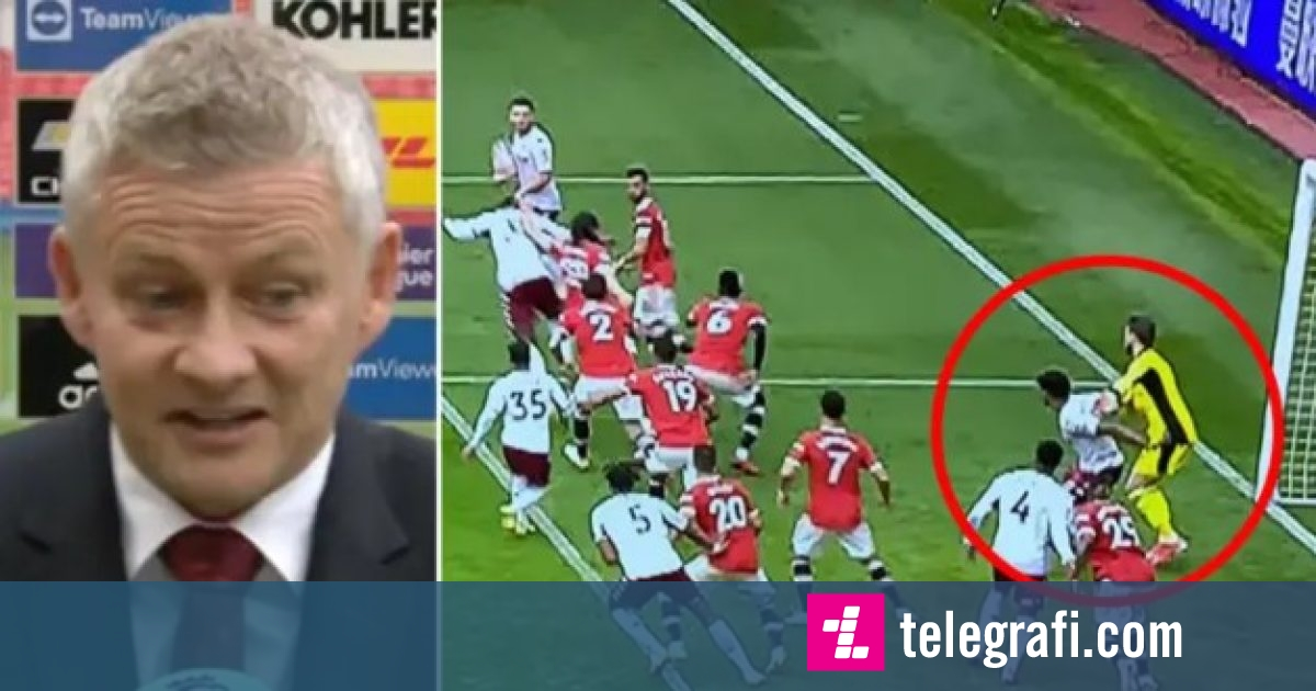 Solskjaer thinks Aston Villa's winning goal should have ...