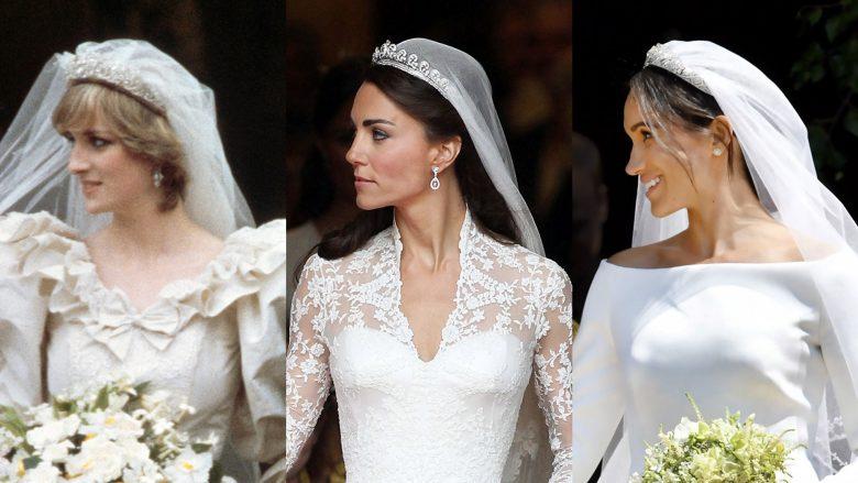 Fakte rreth disa fustaneve të dasmave mbretërore