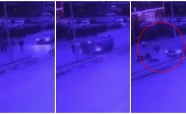 Pamjet e aksidentit në Veternik, ku vetura goditi pesë persona