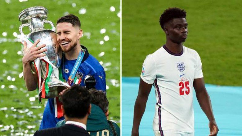 Jorginho e dinte se finalja e Euro 2020 kundër Anglisë kishte 'mbaruar' kur Saka mori goditjen e penalltisë