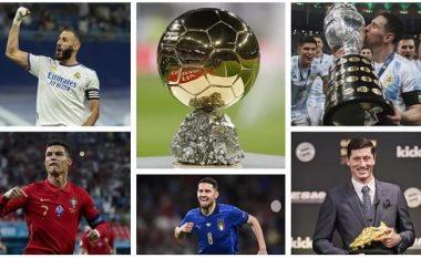 Kush do të jetë fitues i 'Topit të Artë' – këta janë pesë kandidatët kryesorë për ta fituar trofeun e çmuar individual