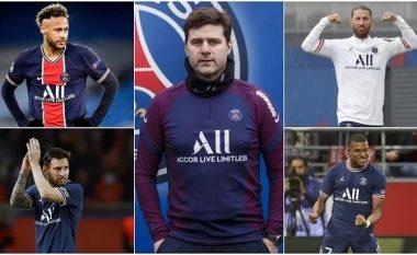 Pochettino: Situata aktuale e Sergio Ramos është e ndryshme nga ajo e vitit 2014 – as e Neymar e Messi