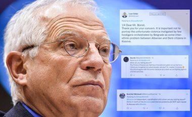 """Deklarata e Borrellit për aksionin në veri, komentuesit e """"gozhdojnë"""" me komente: Pse duhet të negociohet luftimi i kontrabandës dhe krimit me Serbinë?"""